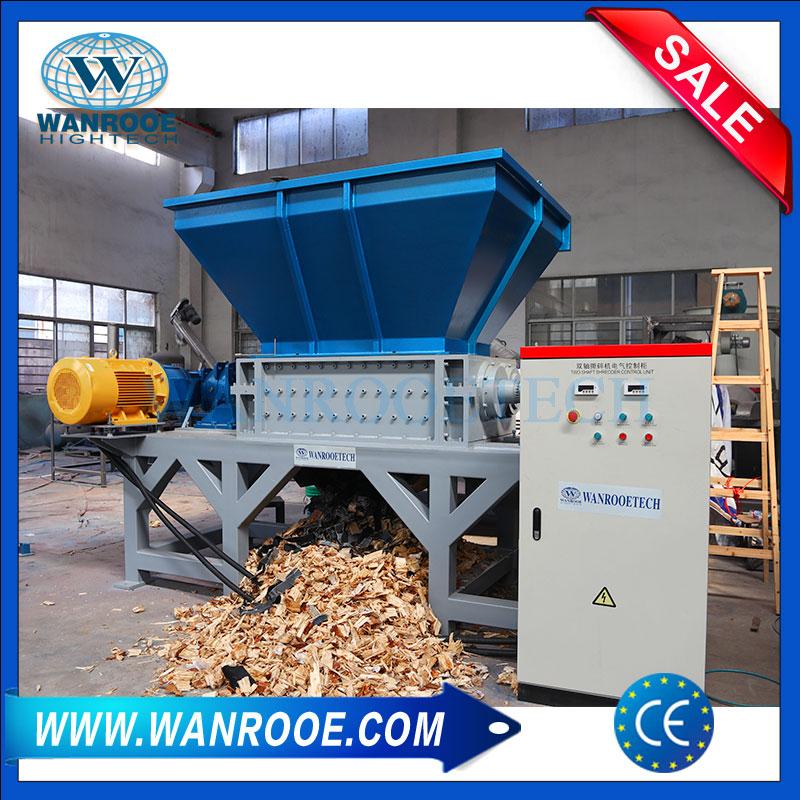 Waste Wood Shredder, Wood Log Shredder, Wood Block Shredder, Wood Shredding Machine