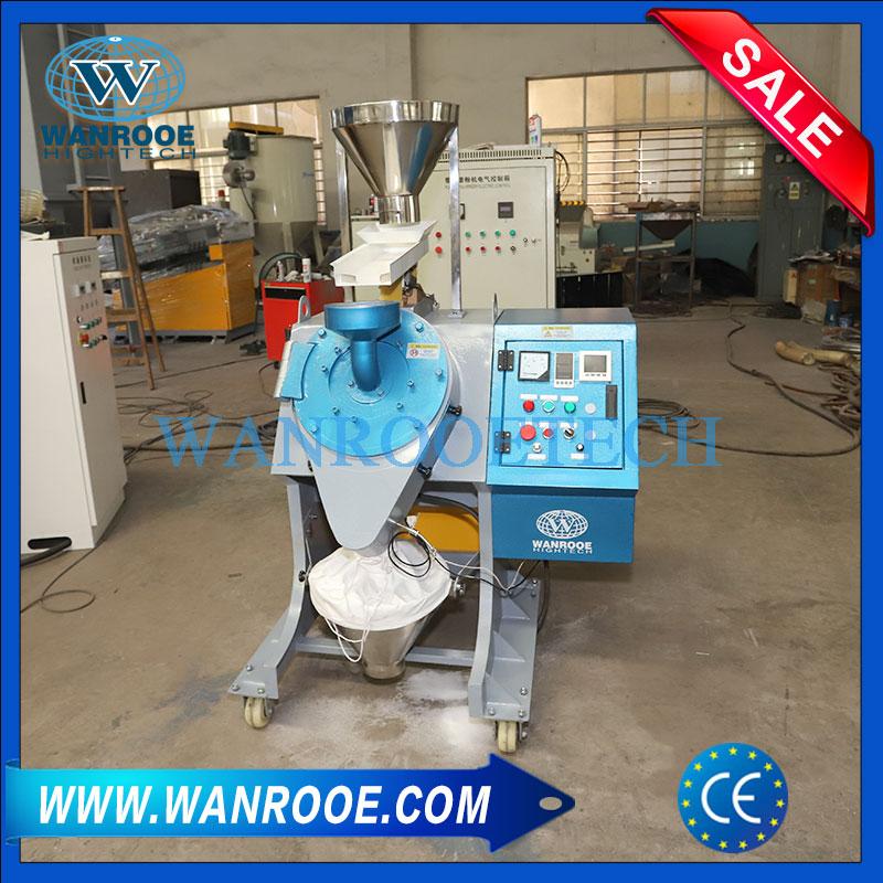 Lab Rotomolding Masterbatch Compounding Pulverizer Plastic Milling Machine