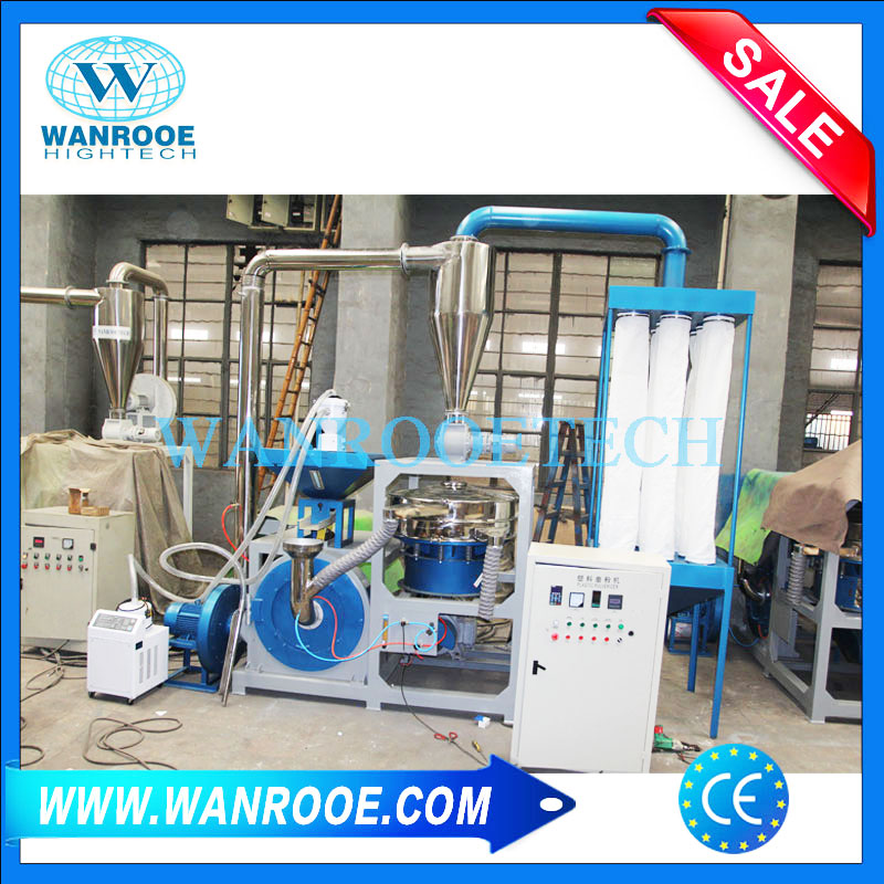 PP Pulveriser, Polypropylene Pulverizing Machine, Plastic Pulverizing Machine, PP Grinder, PP Granule Pulverizer Machine