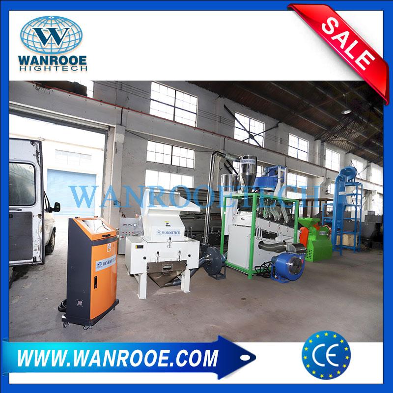 Fuel Gas Hose Crusher, Gas Netting Hose Crusher, PVC Hose Crusher, PVC Hose Recycling Machine