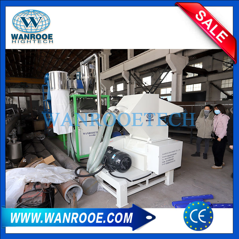 Rubber Fiber Hose Crusher, Rubber Fiber Hose Granulator, Rubber Fiber Hose Recycling Machine, Crusher Separator Machine
