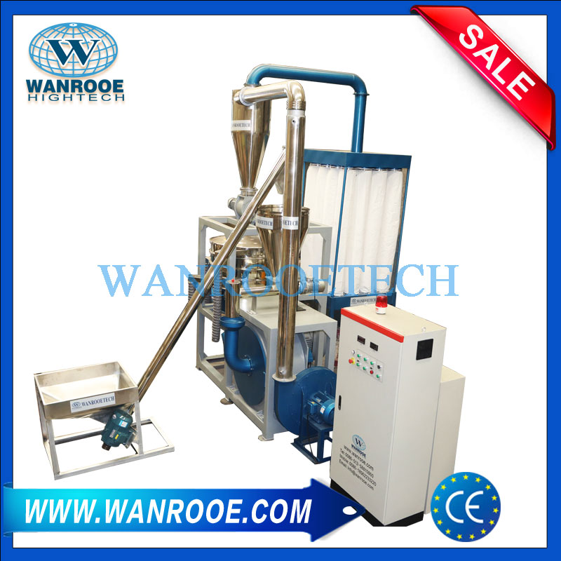 plastic pulveriser, plastic pulveriser machine, plastic miller, plastic grinding machine, plastic milling machine