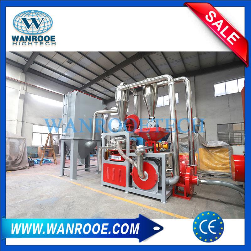 SPC Grinder, SPC Grinding Machine, SPC Pulverizer, WPC Pulverizer, WPC Grinder, Plastic Floor Pulverizer