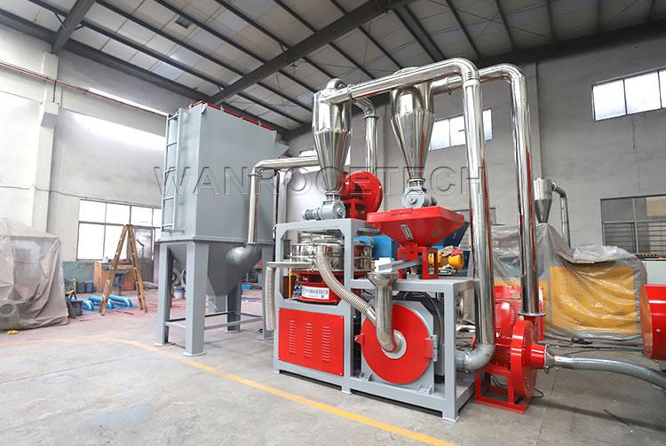 PNMP Aluminum Plastic recycling pulverizer
